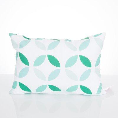 Mod Circles Outdoor Lumbar Pillow Color: Mint