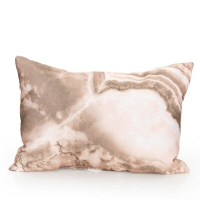 Quartz Outdoor�Lumbar Pillow Color: Brown