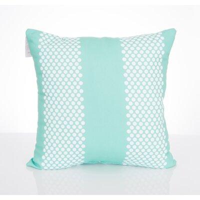 Bullseye Outdoor Throw Pillow Size: 26 H x 26 W x 2 D, Color: Mint