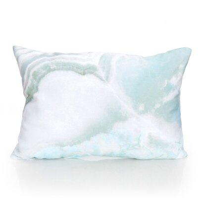 Quartz Outdoor�Lumbar Pillow Color: Pale Blue Mix