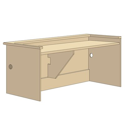Patron Desk Shell Unit Product Image 1326
