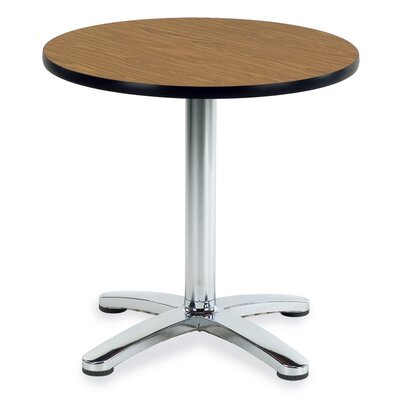 Universal Table Top Series 30 Round Breakroom Table Top Laminate / Banding: Fusion Maple / Fusion Maple