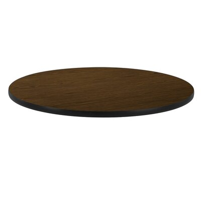 36 Round Gathering Table Top Color: Walnut
