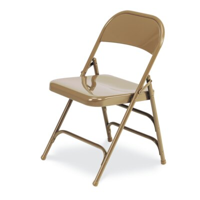 167 Series Metal Folding Chair (Set of 4) 167-GLD91
