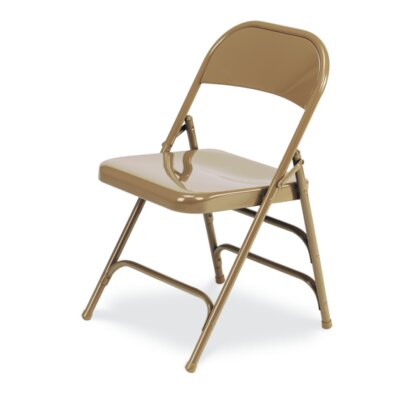 167 Series Metal Folding Chair (Set of 4) CHAIR-167-GLD91