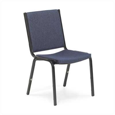 Comfort Armless Stacking Chair (Set of 4) Seat Finish: Blueberry