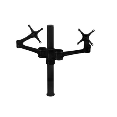 Dual Display Articulating/Extending Arm Desktop Mount 20-27 LCD