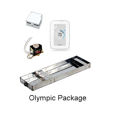 Olympic Package Finish: Polished Brass