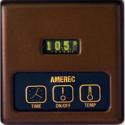 K60 Digital Steam Generator Control with 60 Minute Timer Finish: Oil Rubbed Bronze