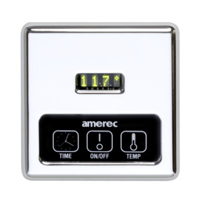 K60 Digital Steam Generator Control with 60 Minute Timer Finish: Chrome