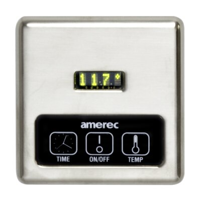 K60 Digital Steam Generator Control with 60 Minute Timer Finish: Brushed Nickel