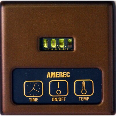 AK Series KT60 Digital Control Finish: Oil Rubbed Bronze