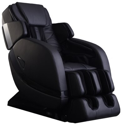 Zero Gravity Massage Chair Color: Black