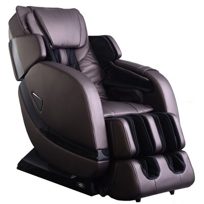 Zero Gravity Massage Chair Color: Brown