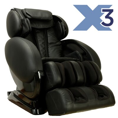 Zero Gravity Massage Chair Color: Black
