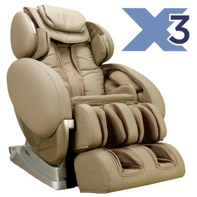 Zero Gravity Massage Chair Color: Taupe