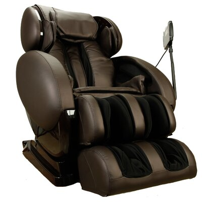 Infinity IT-8500-CB Heated Massage Chair Color: Chocolate Brown
