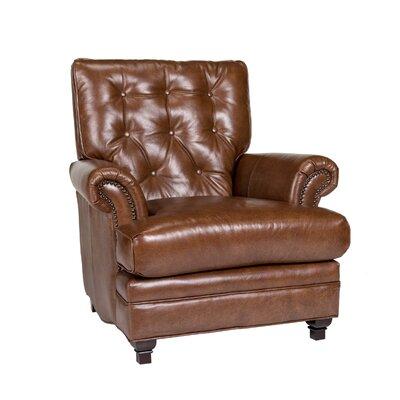 Pablo Club Chair Upholstery: Fedora Chestnut