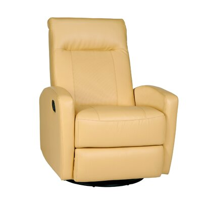 Stefan Manual Swivel Glider Recliner Upholstery: Bedford Yellow