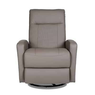 Stefan Manual Swivel Glider Recliner Upholstery: Samaurai Quarry