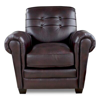 Aaron Club Chair Upholstery: Leigh Black Cherry