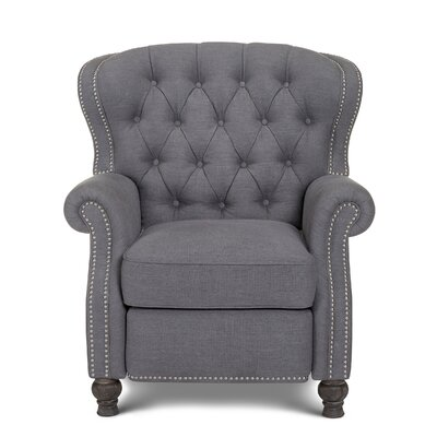 Cambridge Manual Recliner Upholstery: Gray
