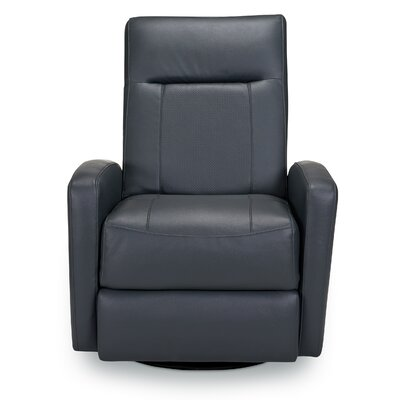 Stefan Manual Swivel Glider Recliner Upholstery: Bedford Slate