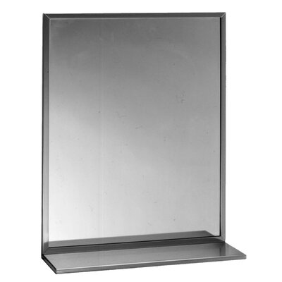 "Channel Bathroom Mirror Size: 24"" x 36"