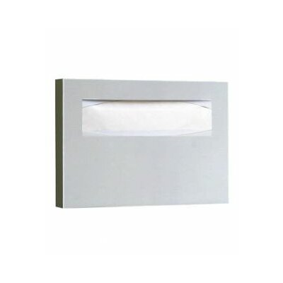 11 Toilet Seat Cover Dispenser in Satin