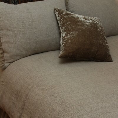 Whisper Duvet Color: Flax, Size: King