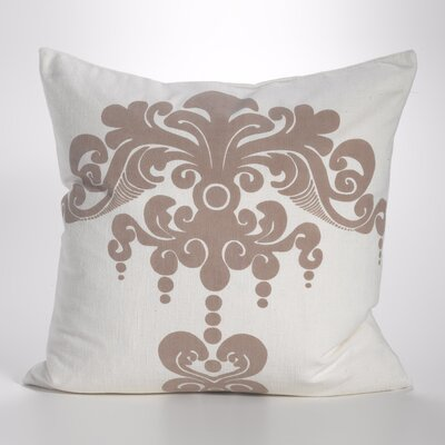 Enchantique Cotton Throw Pillow Color: Sable