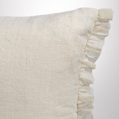 Whisper Standard Sham Color: Ivory