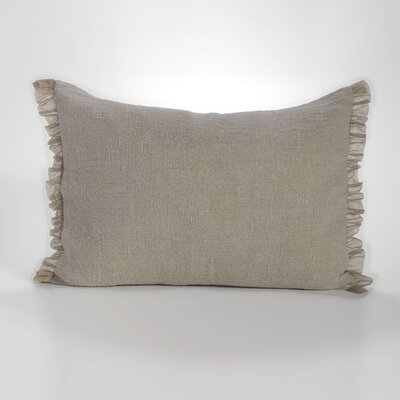Whisper Standard Sham Color: Flax