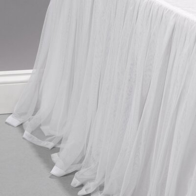 Weinman Bedskirt Size: Queen, Color: White
