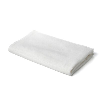 Velour Beach Towel Color: White