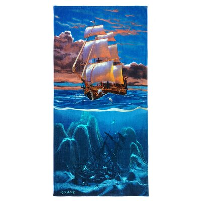 Royce Sailaway Printed Beach Towel
