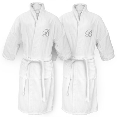 Monogram Railroad Bathrobe