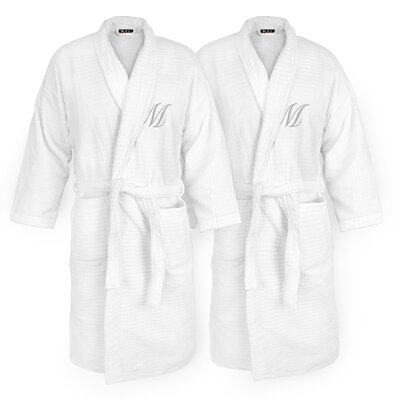 Monogram Sugarcube Bathrobe
