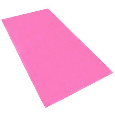 Velour Beach Towel Color: Pink