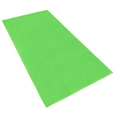 Velour Beach Towel Color: Lime
