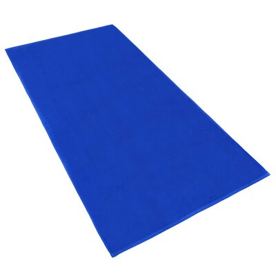 Velour Beach Towel Color: Royal Blue