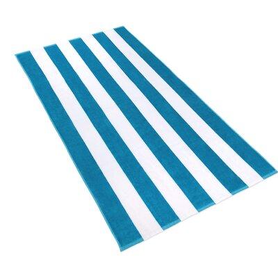 4 Piece Towel Set Color: Blue