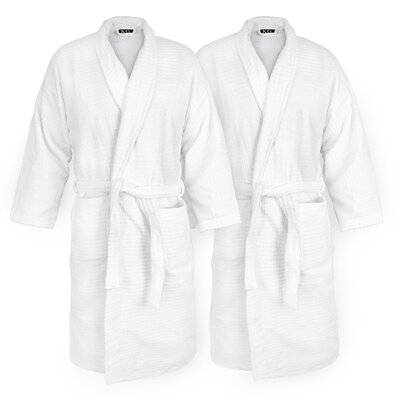 Sugarcube Velour bathrobe