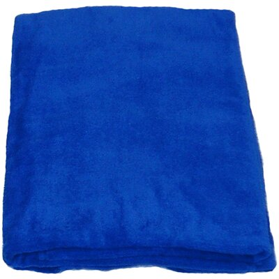 Velour Beach Towel Color: Cobalt Blue