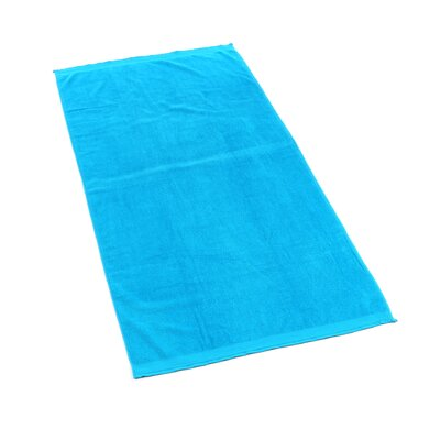Velour Beach Towel Color: Turquoise