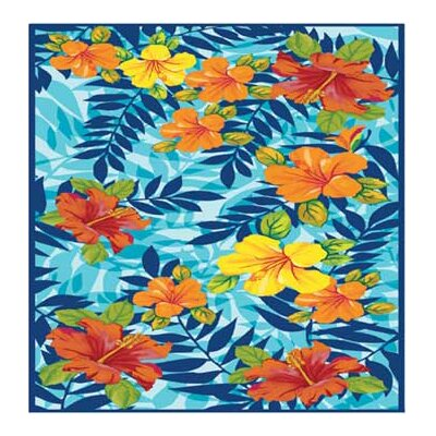 Hawaiian Tropical Sunset Beach Towel