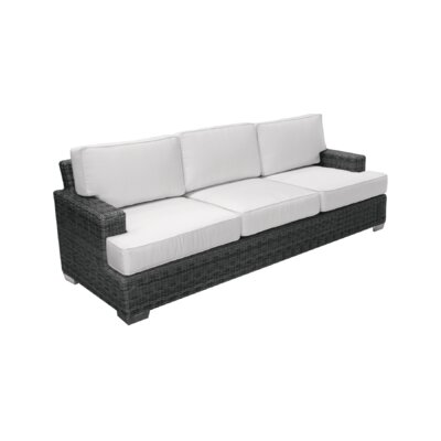 Palisades Sofa with Cushions Fabric: Daffodil