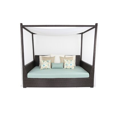 Signature Viceroy Day Bed with Cushion Fabric: Sunbrella Spectrum Coffee