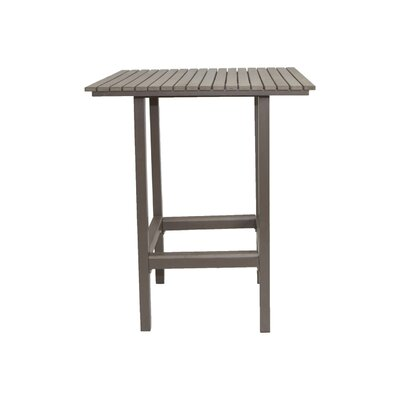 Marina Bar Table Finish: Grey