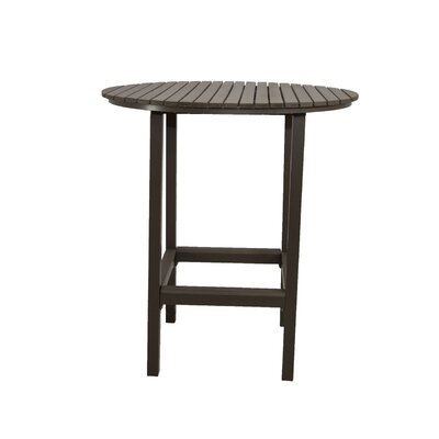 Riviera Bar Table Finish: Grey